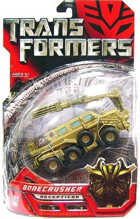 TRANSFORMERS - Movie Collection - AUTOMORPH TECHNOLOGY - DELUXE CLASS - Decepticon BONECRUSHER - OVP