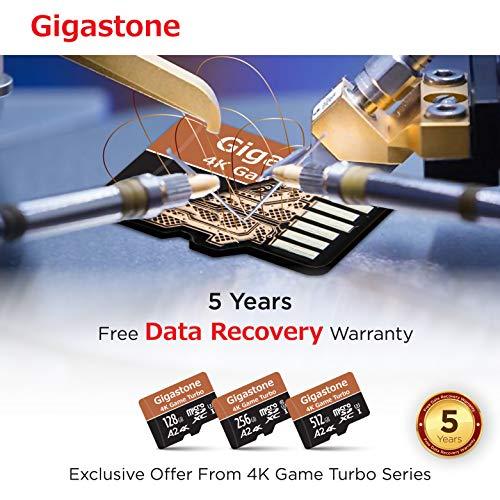 gigastone『MicroSDCard4KGameTurbo128GB(633X)』