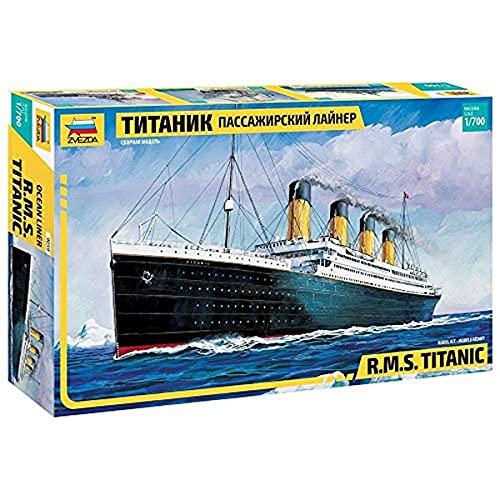 Zvezda 9059 - R.M.S. Titanic - Plastic Model Kit Scale 1/700 Lenght 15'/ 38.4 cm 150 Details