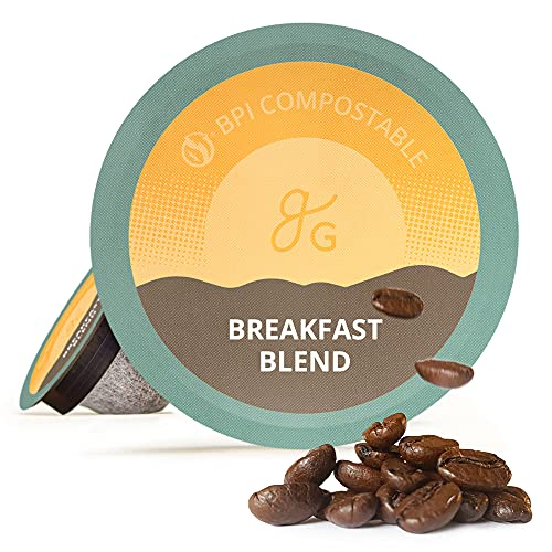 GreaterGoods Kcup Coffee Light Roast (72 Count) For Keurig Coffee...