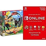 Ring Fit Adventure (Nintendo Switch) + Nintendo Switch Online - Abonnement 12 Mois (Code de téléchargement)