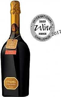 3 Bottles Lambrusco OTELLO NERO Etichetta ORO Silver Medal 2017