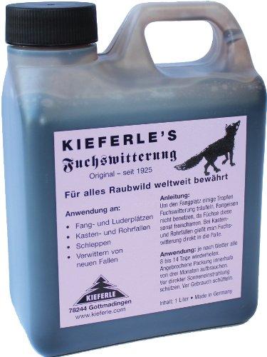 Kieferles Fuchswitterung 1 Liter Fuchs Lockmittel Raub Wild das Original seit 1925