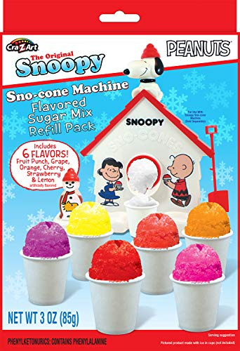 Snoopy Snow Cone Maker Refill 3 oz