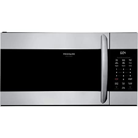 FRIGIDAIRE FGMV17WNVF Over the Range Microwave Oven with 1.7 cu. ft. Capacity, in SmudgeProof Stainless Steel