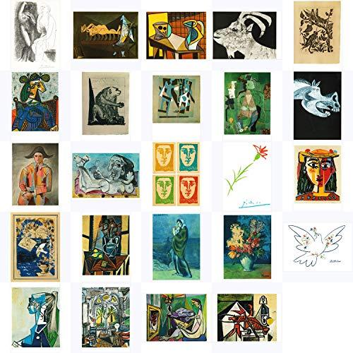 Kunstkarten-Komplett-Set Pablo Picasso