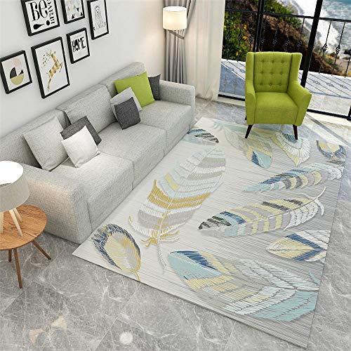 Tapis Moumoute Tapis Industriel Salon gris grosse tapis de salon moderne tapis plumes motif moquette de moquette en plein air lavage de l