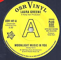 "Moonlight Music In You / If You Loved Me (Soul Coaxing - Ame Caline) - Laura Greene / Peggy March 7"" 45"