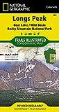 Longs Peak: Rocky Mountain National Park [Bear Lake, Wild Basin] (National Geographic Trails Illustrated Map, 301)
