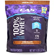EAS 100% Whey Protein 5 Lb Resealable Bag - Chocolate