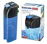 Penn Plax Cascade 600 Submersible Aquarium Filter Cleans Up to 50 Gallon Fish Tank with Physical, Chemical, and Biological Filtration, CIF3