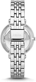 Fossil Jacqueline for Women - Casual Leather Band Watch - ES3545P
