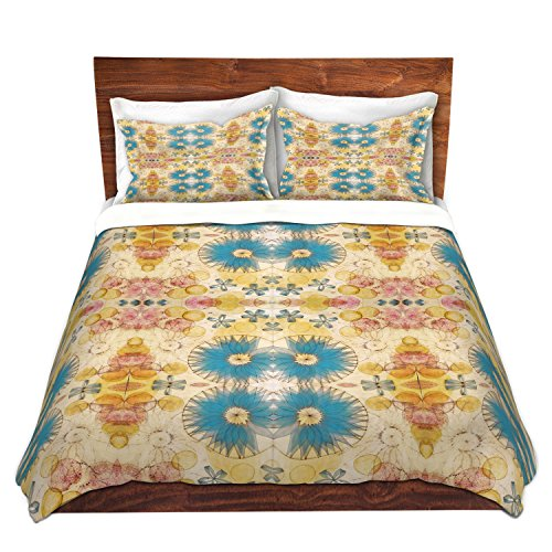 DiaNoche Designs Pattern D Cover Brushed Twill Queen, King, 6 Twin Duvet Sham Set