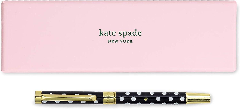 Kate Spade New York Black Ink Pen Ballpoint B with Gift Colorado Colorado Springs Mall Springs Mall Reusable