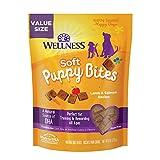 Wellness Soft Puppy Bites Lamb & Salmon Dog Treats, 8-oz Bag