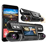Dual Dash cam | Vizomaoi Dual 1920x1080P FHD | Front and Cabin Dash Camera | 2160P Single Front | for Cars with Wi-Fi | G-Sensor | WDR | Loop Recording| Support 128GB