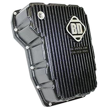BD Diesel Performance 1061525 Transmission Pan Black