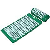INTEY Kit d'Acupression, Tapis Coussin de Massage pour Yoga, Tapis d'acupression,...