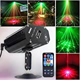 Party Lights Dj Disco Lights GEELIGHT Sound Activated Stage Effect Projector Strobe Lights
