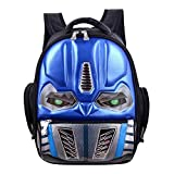 Kids Transformers Shape School Backpack Rucksack Sapphire Age4-6
