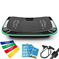4D Triple Motor Vibration Plate   Powerful   Magnetic Therapy Massage   Curved Surface   4.0 Bluetoo...