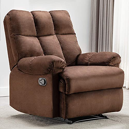 Bonzy Home Recliner Chair - Heavy Duty Manual Overstuffed...