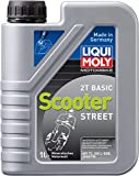 Liqui Moly 1619 - Aceite de motor, 2T, Basic Scooter Calle, Booklet, 1 l