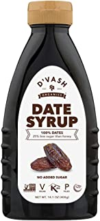 D'vash Date Syrup, 14.1 Ounce Squeeze Bottle | Vegan, Paleo, Gluten-free and Non-GMO