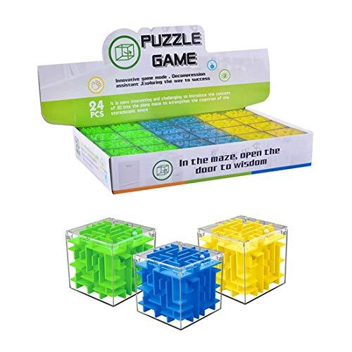 Tosbess Pack De 24 Juegos De Habilidad para Niños. Detalles para Fiestas De Cumpleaños Infantiles Y Piñatas