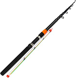 Super-fantastic-store Feeder Rod C.W 120g Extra Heavy Telescopic Feeder Fishing Rods 3.0m 3.3m 3.6m 3.9m with 2 Rod Tips 60% Carbon Fiber