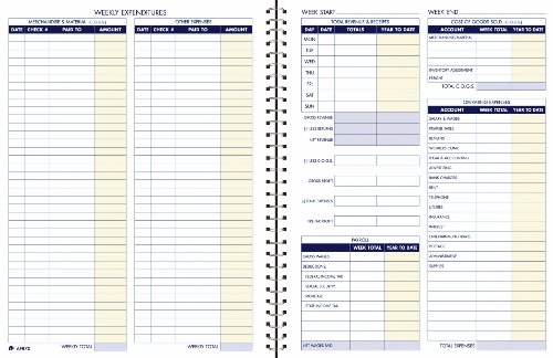 Adams Bookkeeping Record Book, W...