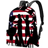 Sac à dos pour barbecue Motif drapeau américain