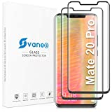 [2 Pack] Svanee Screen Protector for Huawei Mate 20 Pro