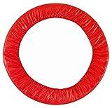 Upper Bounce Coussin de Protection de Remplacement Haut de Gamme pour Mini Trampoline   Convient aux Armatures de 101,6 cm   Couleur Rouge pour Un Maximum de Sécurité