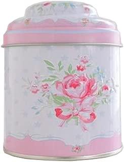 Kylin Express Unique Style Double-Deck Lids Tin Tea Canister Tea Storage Container Seal Pot, NO.18