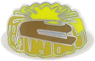 Forge Stapler in Jello Hard Enamel Lapel Pin