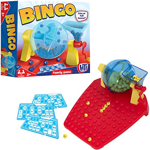 HTI Toys Traditionelle Spiele Bingo & Lotto Set Brettspiel