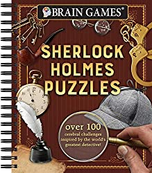 Image: Brain Games - Sherlock Holmes Puzzles, by Publications International Ltd. (Author). Publisher: Publications International, Ltd. (January 1, 2018)