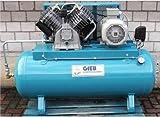 Gieb Kompressor 1.250/250-11-liegend - 7,5 KW 400 V - Vierzylinder