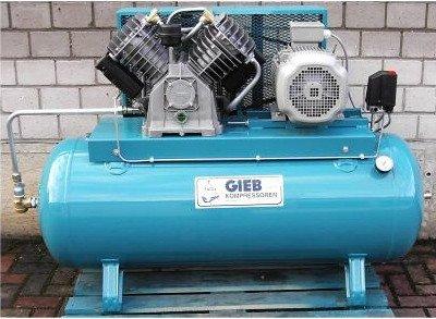 Gieb Kompressor 1.250/250-11-liegend - 7,5 KW 400...