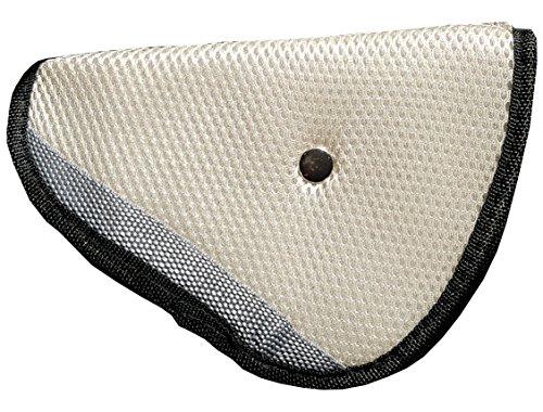 Adaptador, ajustador cinturón de seguridad niño blanco