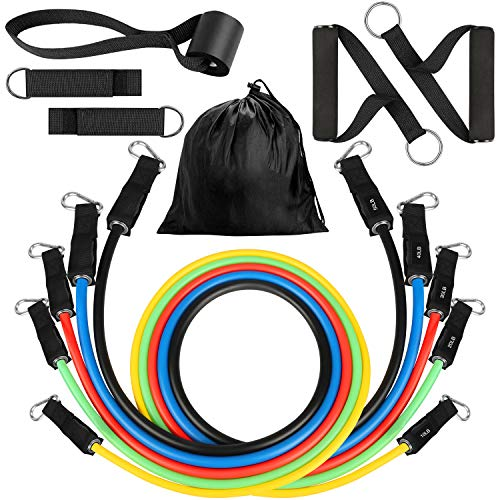 Resistance Bands Set 11pcs $10.20 (70% OFF)
