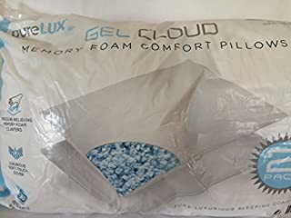 Pure Lux Gel Cloud Memory Foam Comfort Pillows by Purelux