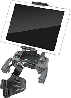 Hanatora 4-11 Inch Tablet Phone Front Holder Mount with Neck Lanyard Strap for DJI Mavic Mini,Mavic 2 Pro/Zoom, DJI Mavic ...
