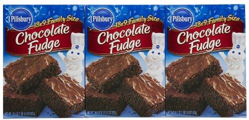 Pillsbury Chocolate Fudge Brownie Mix  195 oz  3 pk