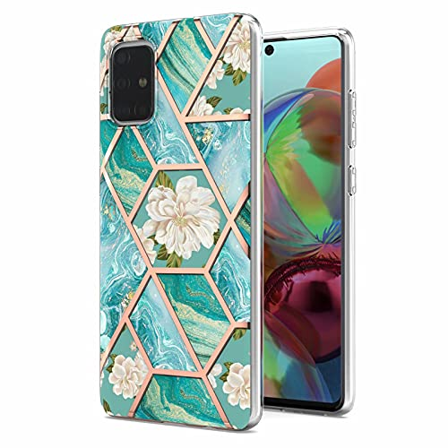 Funda de mármol para Xiaomi Poco X3 NFC Marble Case Protectora Delgada Flexible a prueba de golpes para niñas Mujeres Lindo Premium Soft Rubber TPU Marble Phone Case para Xiaomi Poco X3 NFC Fl