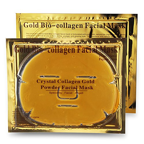 Luxueux or 24k Bio-collagène Masque facial (de 5pcs) En Boolavard