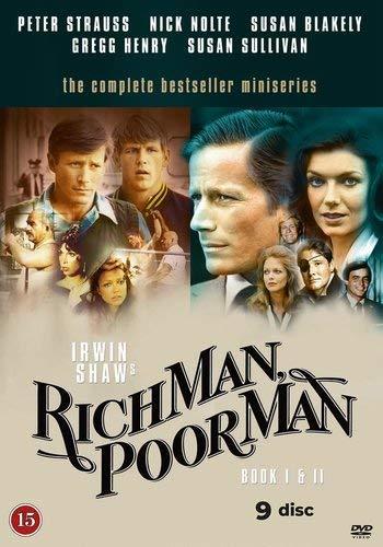 Il ricco e il povero / Rich Man, Poor Man (Book I & II) - 9-DVD Boxset ( Rich Man, Poor Man (Book One - Chapters 1-12) ) [ Origine Danese, Nessuna Lingua Italiana ]