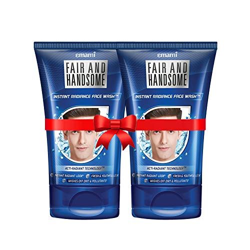 Fair and Handsome Instant Fairness Face Wash, 100g Pack of 2