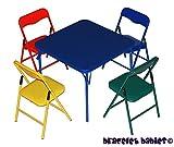 Bracelet Babies Children's Folding Table & Folding Chairs Furniture Set